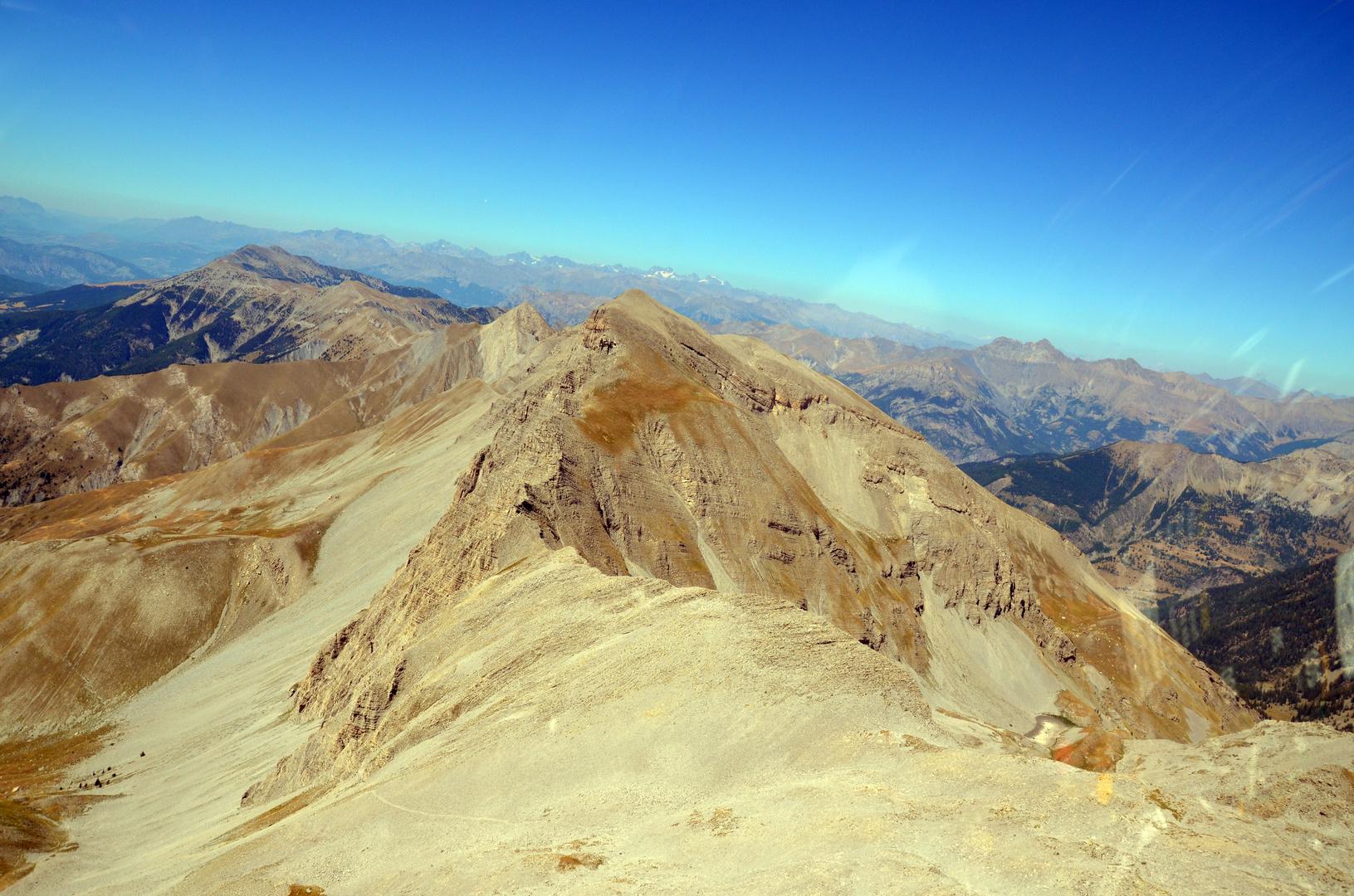 Alpen-Landschaft in Süd-Frankreich