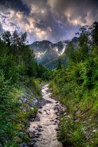 Alpen Schauer
