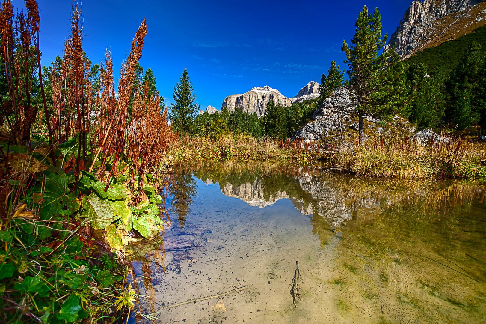 Alpen Teich
