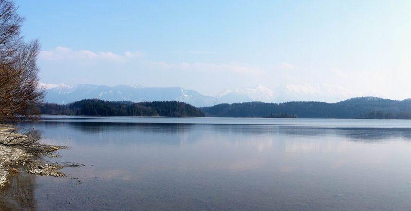 Alpen und Staffelsee