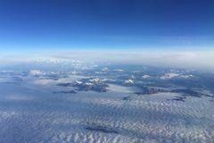 Alpen von oben 1