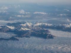 Alpen von oben 4