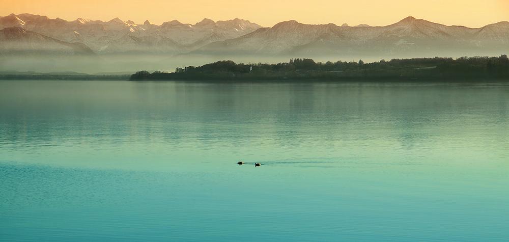 Alpen VS. Starnberger See