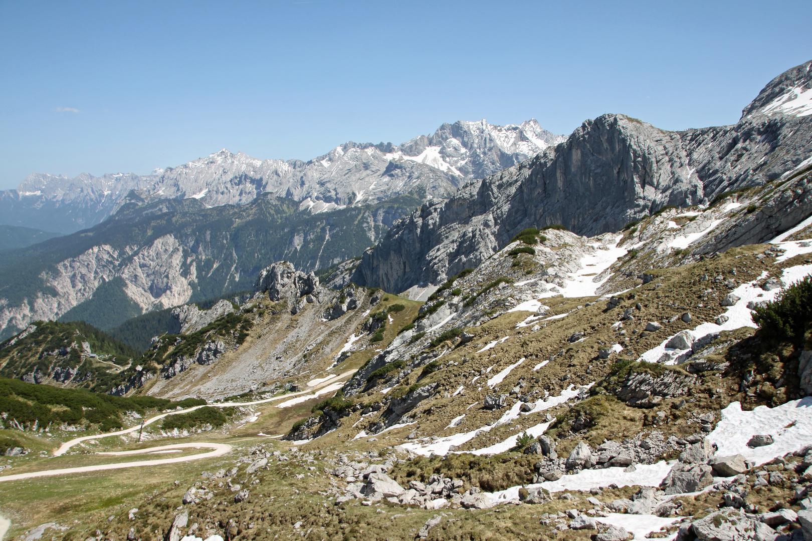 Alpenblick vom Osterfelderkopf