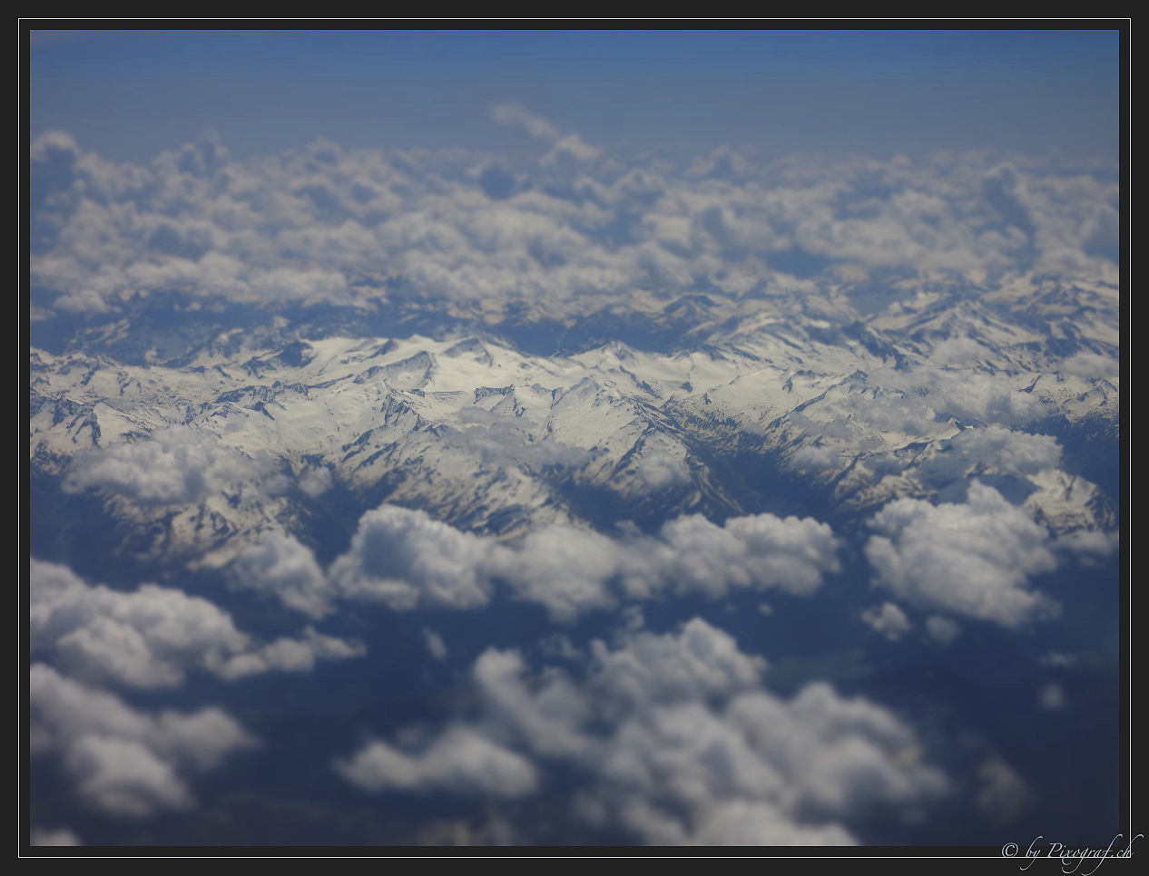 .... Alpenflug die zweite ....