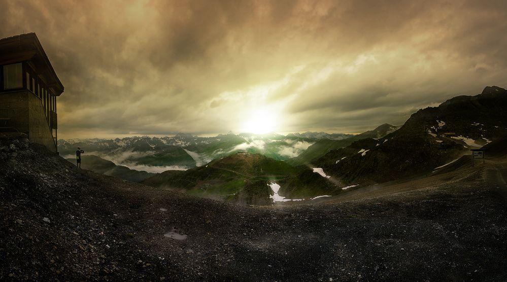 Alpenpanorama II