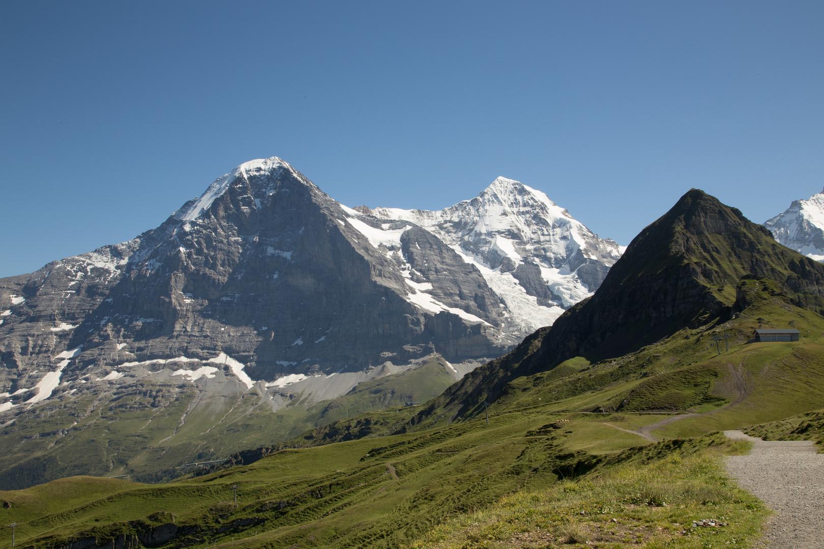 Alpenpanorama mit Eigernordwand