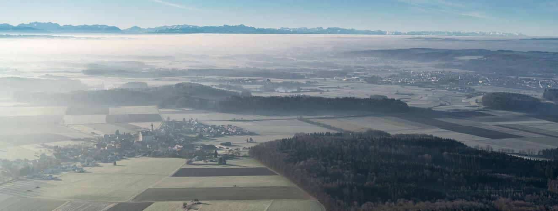 Alpenpanorama Steinhausen