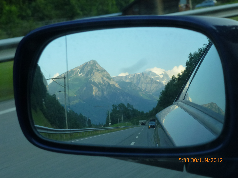 Alpenrückblick