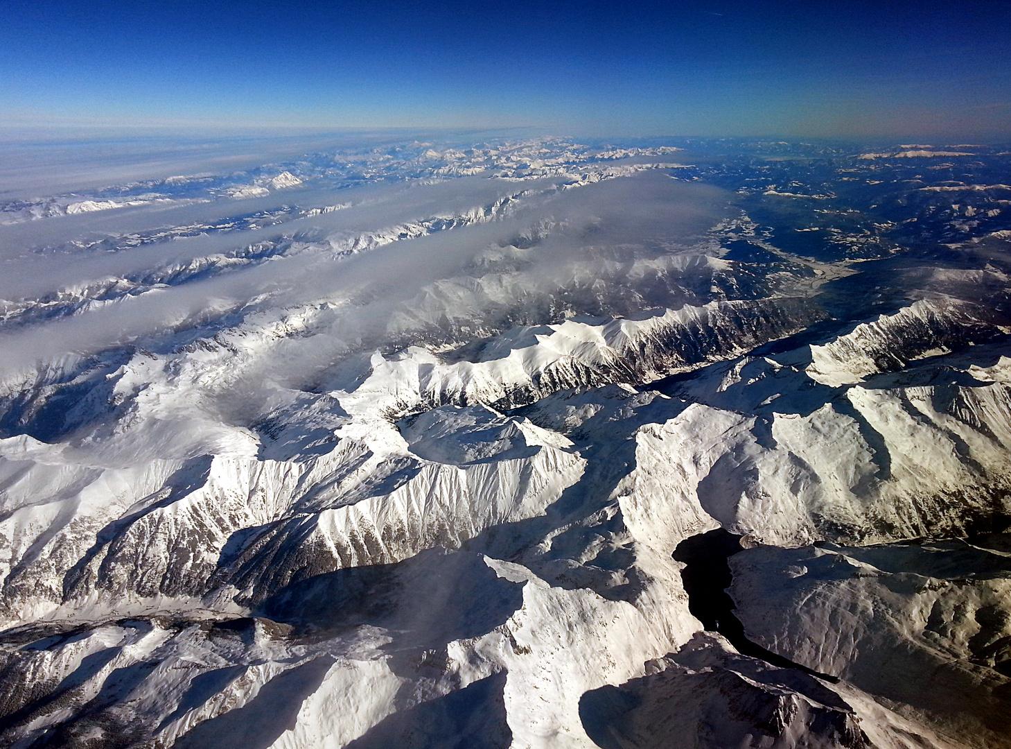 Alpenüberflug