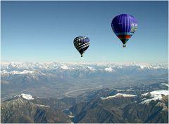 Alpenüberquerung 2003