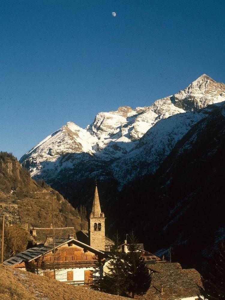Alpes Alpennines-Village de Bionaz-Haute vallée de Bionaz-Valpelline