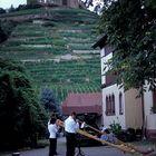 Alphornblasen unterm Staufener Schlossberg