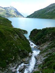 Alpine Sommerlandschaft