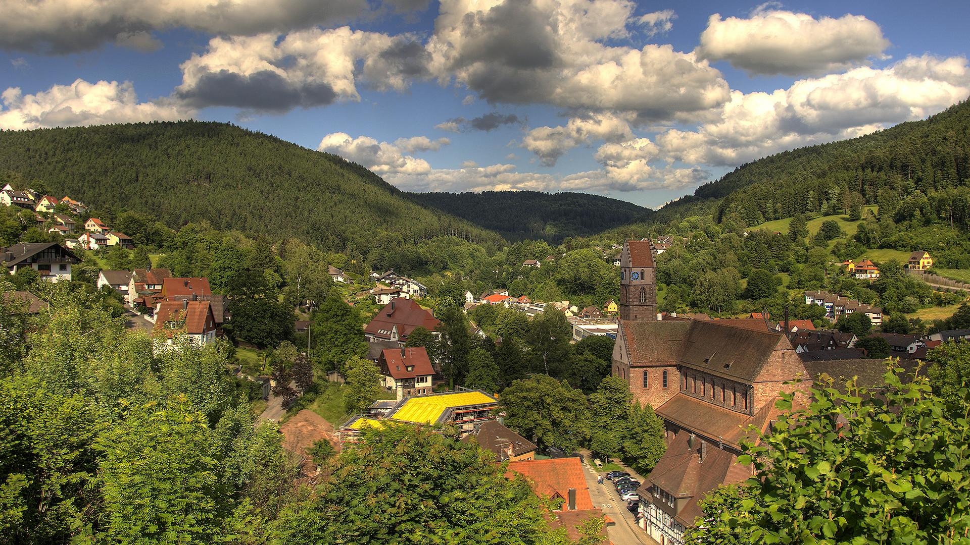 Alpirsbach im Schwarzwald (HDR)