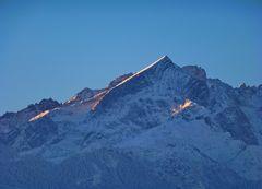 Alpspitze am Neujahrsmorgen...