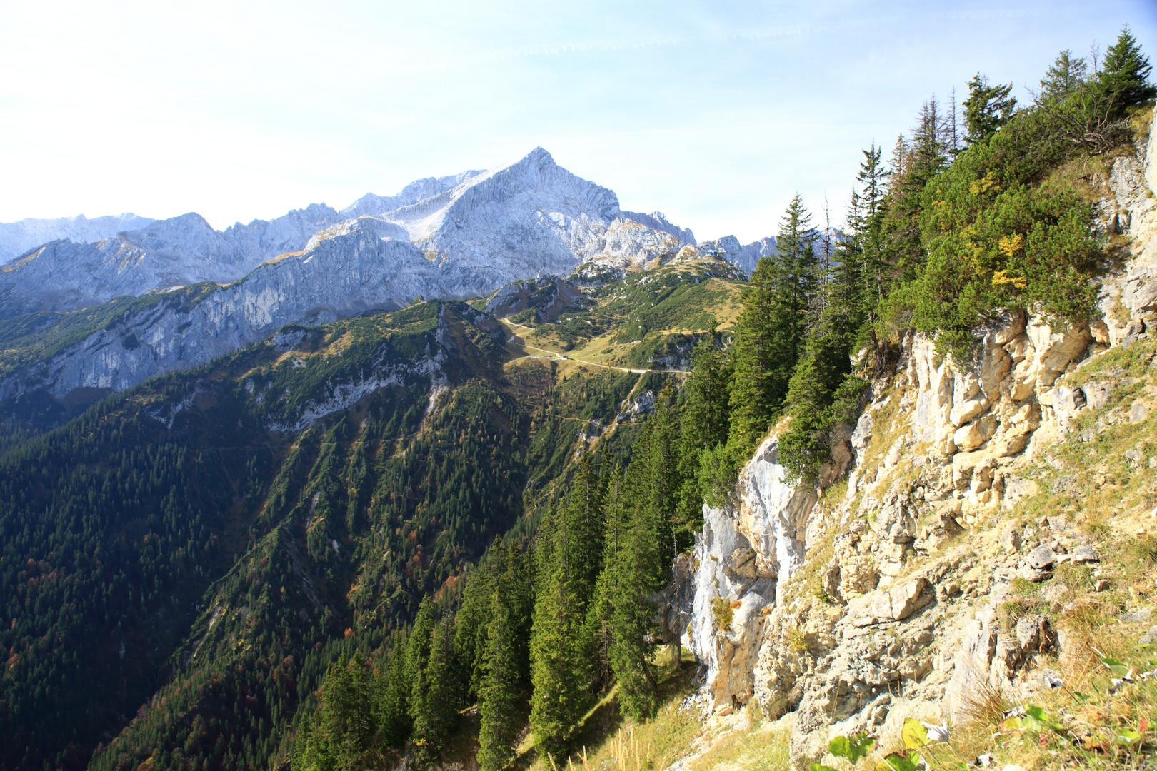 Alpspitze mit Umgebung