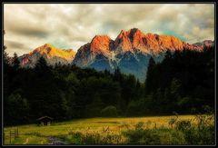Alpspitze und Zugspitze