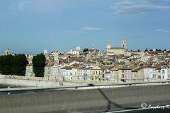 Alres - Altstadt von der Rhonebrücke aus gesehen
