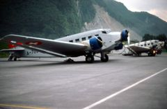 Als der Flugplan der Ju-52 noch Tagesbefehl hiess