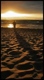 Als der Schatten den Sand berührte...