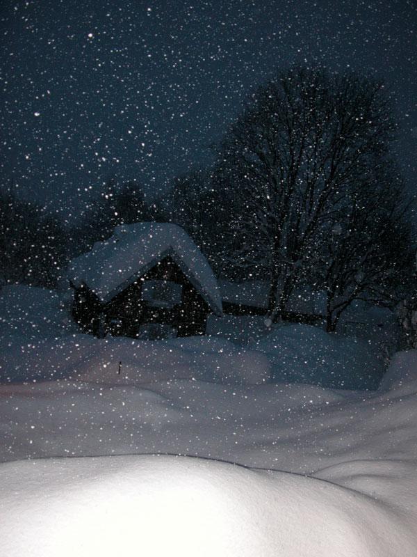 Als der Schnee kam