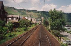 Als die 103 noch auf der Rheinstrecke plamäßig verkehrte