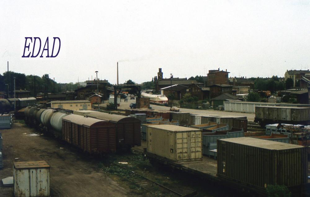 Als die Bahnhöfe noch zu klein waren