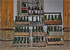 Als es Mehrwegflaschen noch ohne Mehrwertsteuer gab.