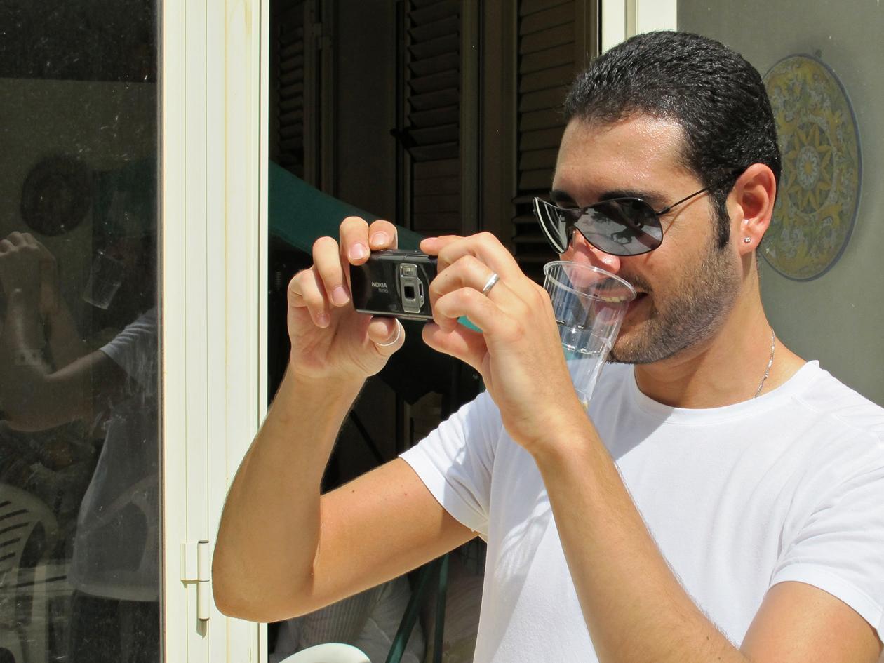 Als Fotograf mal über den eigenen (Teller-) Becherrand blicken.
