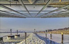 * Als Hamburg noch Winter kannte.... *