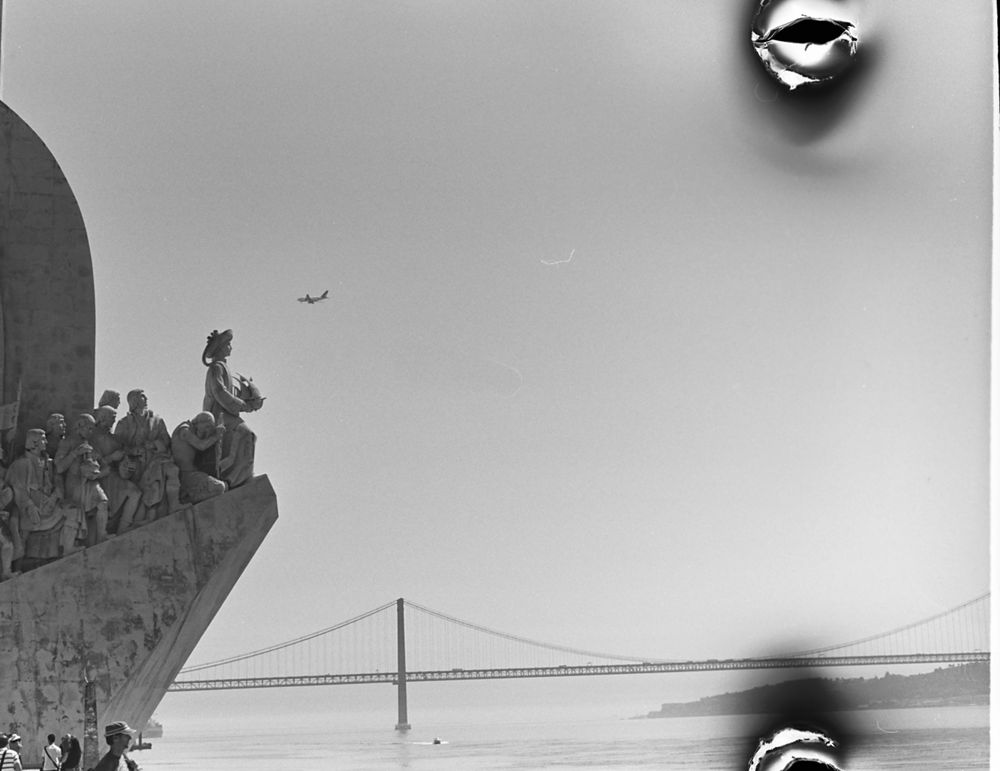 ...als ich einmal Fotos an der Golden Gate Bridge für Touristen verkaufen wollte...