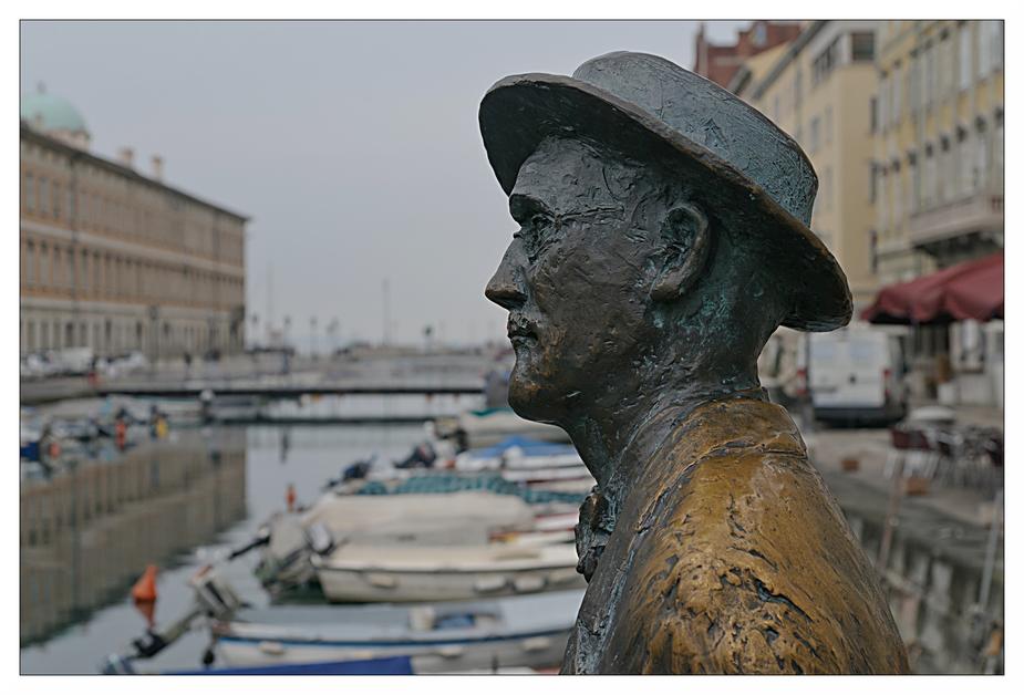 Als ich einmal in Triest dem weltberühmten James Joyce gegenüberstand