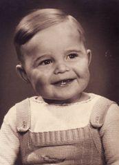 als Klein -Micha noch ein Kleinkind war