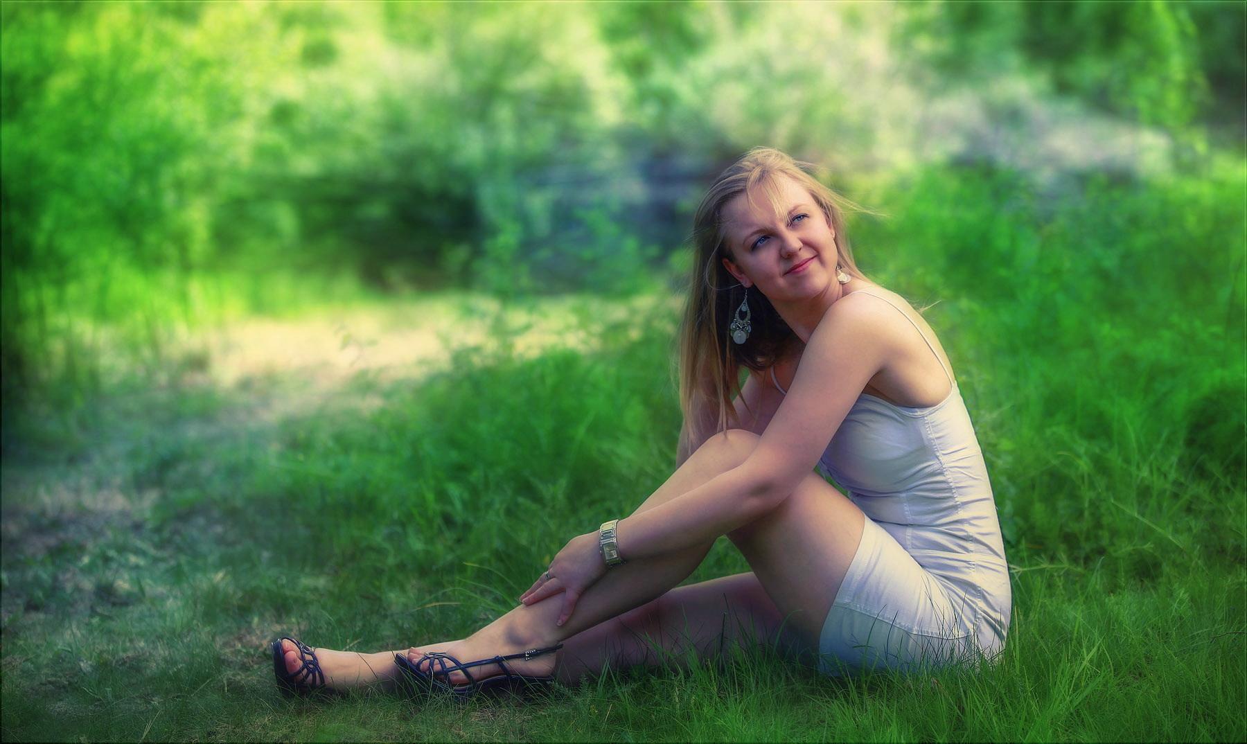 als man noch auf dem gras sitzen konnte ...