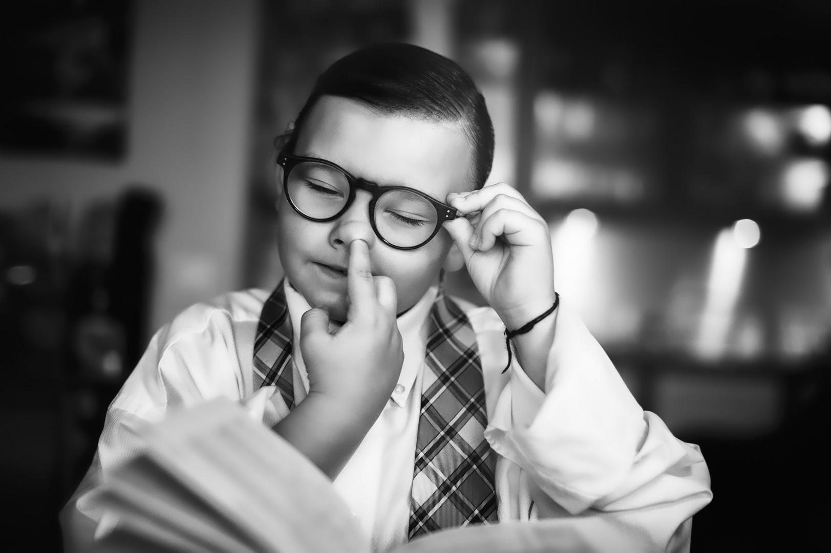 Als mein jüngster Sohn sich noch leidenschaftlich für Mathematik begeistern konnte...