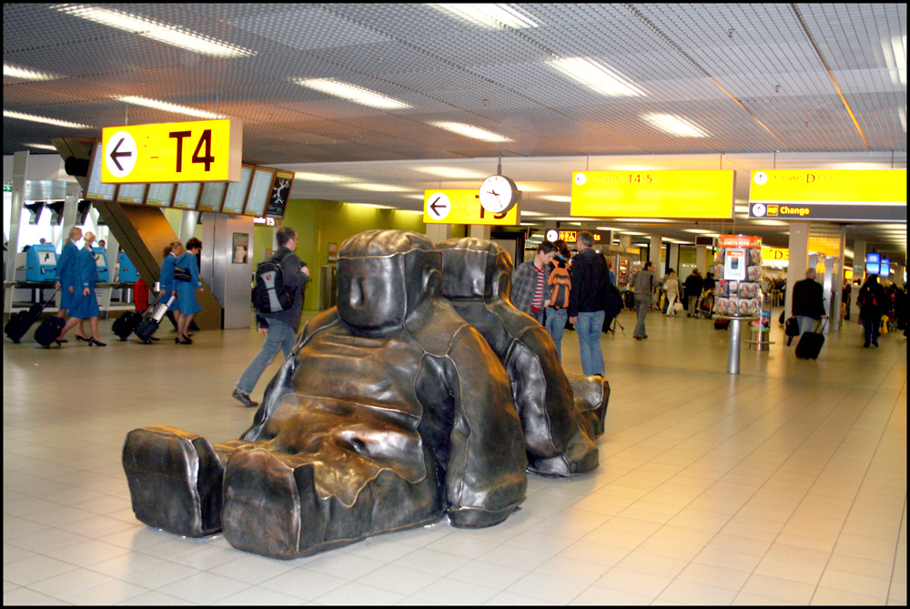 Als müde Passagiere
