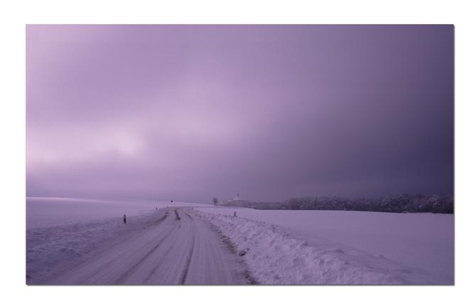 .. als noch Schnee lag ..
