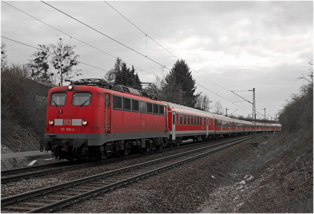 Als noch Züge mit gescheiten Loks fuhren...