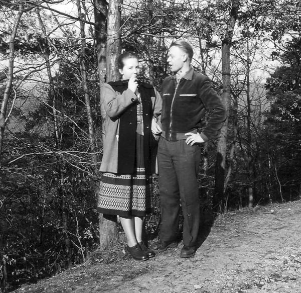Als Omi und Opi noch jung waren .....1952