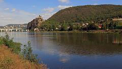 Als Sachse blickt man neidisch auf die Elbe bei Usti nad Labem (Aussig)...