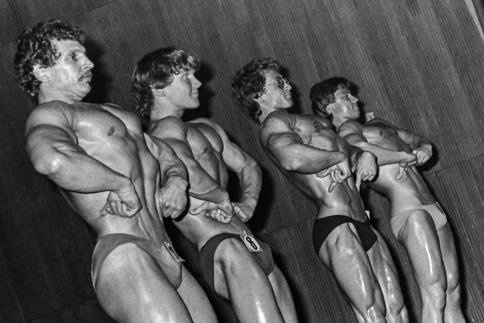 Als Schwarzenegger noch Mr. Universum war