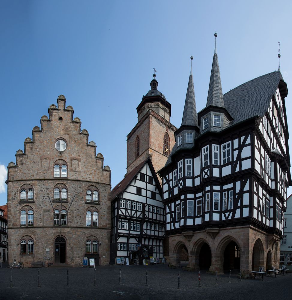 Alsfeld - Rathausplatz