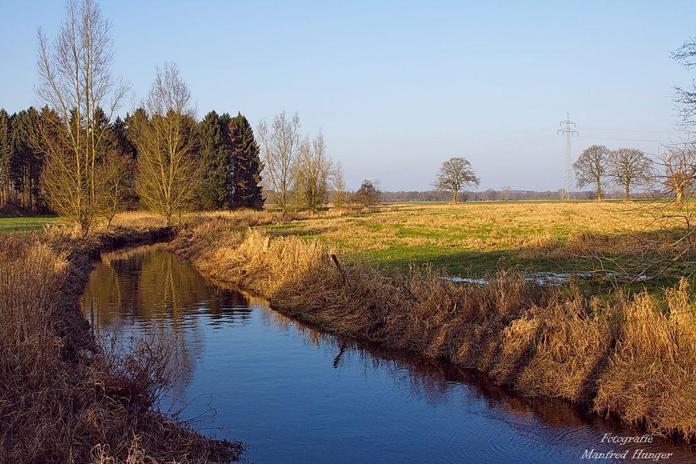 Alster bei Nahefurth wieder im Flussbett