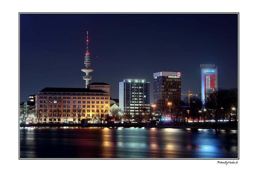 Alster ----> Fernsehturm