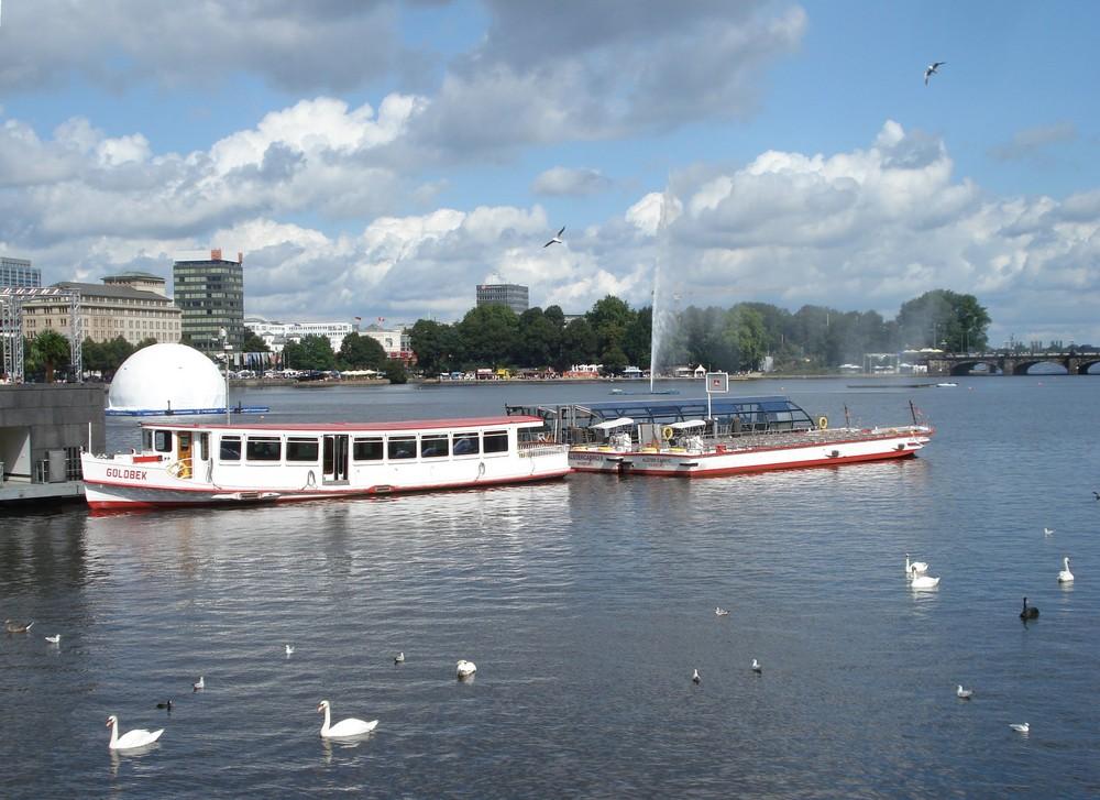Alsterfest in Hamburg 2007
