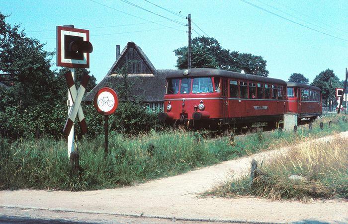 Alsternordbahn (ANB) Garstedt nördl. von Hamburg