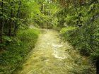 Alt Ausseer See Zufluss nach Starkregen - HANDY!