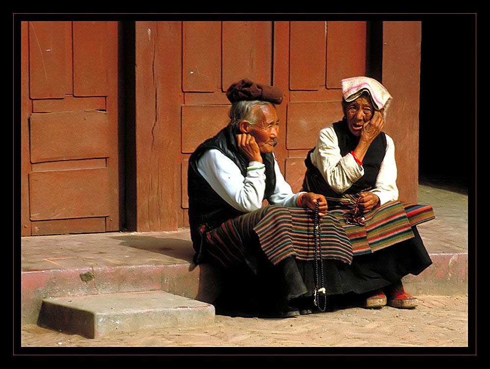 alt sein in Nepal
