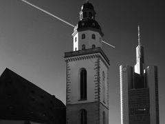 alt und neu in Frankfurt